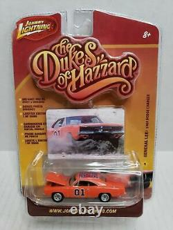 $$RARE$$ The Dukes Of Hazzard General Lee 1969 Dodge Charger Johnny Lightning