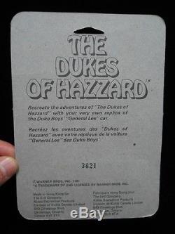 RARECANADIAN 1981 ERTL DUKES OF HAZZARD GENERAL LEE 1/64 DIE CAST IN PACKAGE