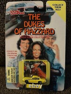 Racing champions 1/144 the dukes of hazzard lot. Rare Cale Yarborough race car
