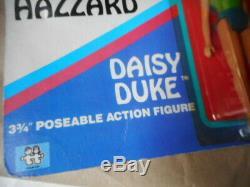 Rare 1980's The Dukes Of Hazard Figure Daisy Duke on card carded sealed