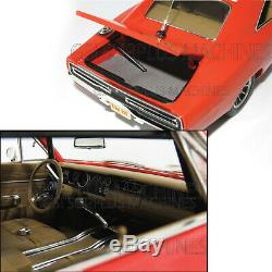 Real 1969 Dukes Of Hazzard General Lee - 1/18 Auto World Silver Screen Amm964