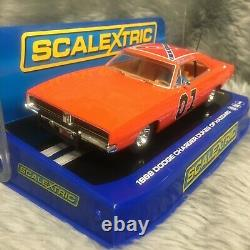 Scalextric 132 1969 Dodge Charger General Lee Dukes of Hazzard C3044