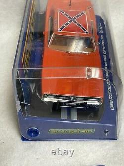 Scalextric 1969 Dodge Charger Dukes of Hazzard Slot Car General Lee NIP Bin #3