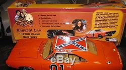 Silver Screen 118 1969 Dodge Charger General Lee Dukes Of Hazzard Tv Car L1