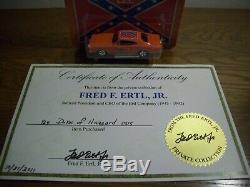 Super Rare The Dukes Of Hazzard 164 General Lee From President Of Ertl & Coa