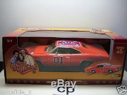THE DUKES OF HAZZARD GENERAL LEE 1969 DODGE CHARGER 118 JOHNNY LIGHTNING