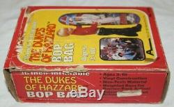 The Dukes Of Hazzard 1981 Arco Boss Hogg Inflatable Bop Bag New In Box Very Rare