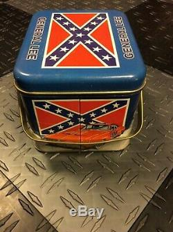 The Dukes Of Hazzard 1981 Vintage Metal Boxrare In This Condition