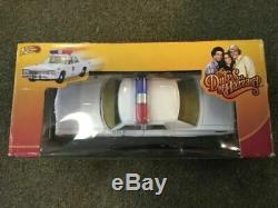 The Dukes Of Hazzard Dodge Monaco Rosco Patrol Car Johnny Lightning 118 Tomy