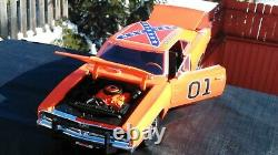 The Dukes Of Hazzard General Lee 1969 Dodge Charger 118 With Face Mask