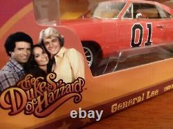 The Dukes Of Hazzard General Lee'69 Charger- Autoworld Silverscreen -RARE 1/18
