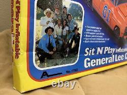 The Dukes Of Hazzard Sit N Play Inflatable General Lee Car Arco 1981 NIB #1752