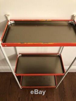 The Dukes of Hazzard 3 Level Metal Shelf 1981 SUPER RARE HARD TO FIND VGC