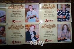 The Dukes of Hazzard 8X Cast Autographed Die-Cast 118 General Lee CA COA OOP
