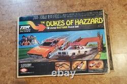 The Dukes of Hazzard TCR Tilt Jump Slotless Race Set Ideal Racing Lane Change