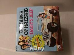 The dukes of hazzard daisy's jeep 1981 mego sealed
