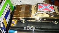 Ultra Rare BN Dukes of Hazzard George Barris GOLD General Lee 1/18 1/100