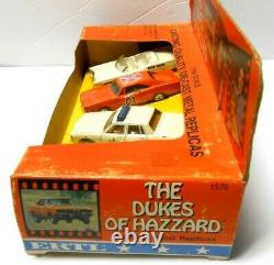 Unopened 4 Car SET 1981 ERTL 1969 Dodge Charger General Lee Dukes Of Hazard Car
