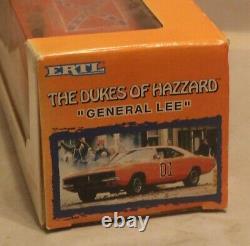 VTG ERTL Dukes Of Hazzard General Lee 125 Die Cast 1969 Dodge Charger NIB New
