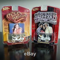 Vhtf2 Johnny Lightning Dukes Of Hazzardwhite Lightning Daisy's Jeep (mint)