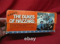 Vintage 1981 ERTL Dukes of Hazzard 1/64 Die-Cast Set General Lee Boss Hogg