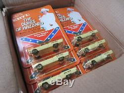 Vintage 1981 Ertl Dukes Of Hazzard Boss Hoggs Cadillac Lot of 18 with Original Box