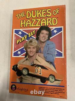 Vintage 1981 Factory Sealed MINT Dukes of Hazzard Colorforms Toy Set