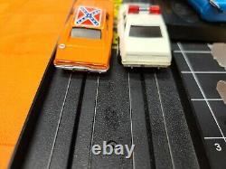 Vintage 1981 Ideal The Dukes Of Hazzard Electric Slot Car Racing Set General Lee