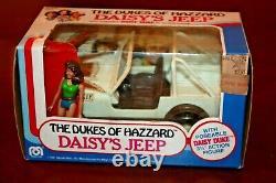 Vintage 1981 MEGO Dukes of Hazzard Daisy's Jeep Duke MIB sealed withfigure RARE
