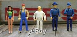 Vintage 1981 MEGO The Dukes of Hazzard 3 3/4 Action Figures with Jeep Lot