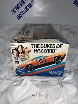 Vintage 1981 Mego Dukes of Hazzard General Lee 3 3/4 Bo -Luke Action Figures MIB