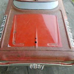 Vintage AMF The Dukes Of Hazzard General Lee Rebel Pedal Car
