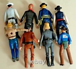 Vintage Action Figures Dukes Of Hazzard -The Lone Ranger Legends Of The West