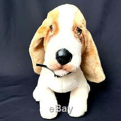 Vintage Basset Hound Animal Fair Inc. Plush Flash Dog from Dukes of Hazzard