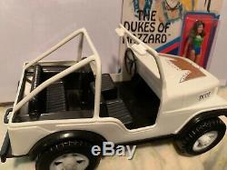 Vintage Daisy Duke jeep toy DUKE OF HAZZARD Mego