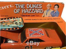 Vintage Dukes Of Hazard General Lee Car 1/25 Scale Ertl 1981 New In Box