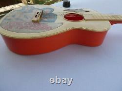 Vintage Dukes of Hazzard Acoustic Toy Guitar