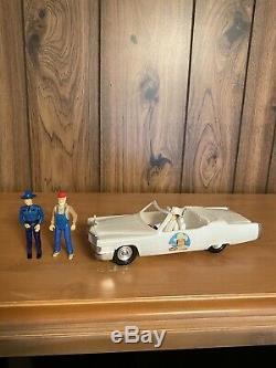 Vintage Dukes of Hazzard Boss Hogg Mego Cadillac RARE Canadian Jesse Cletus
