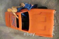 Vintage Dukes of Hazzard GENERAL LEE Dodge Charger Toy Warner Bros. Bo & Luke