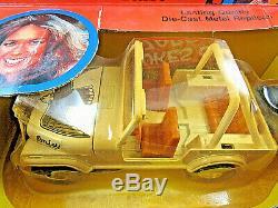 Vintage ERTL 1981 Daisy Duke Jeep Wrangler - Dukes of Hazzard - Nice