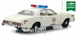 Voiture Police Plymouth Fury Rosco Shérif Fais Moi Peur 1/18 Dukes of Hazzard